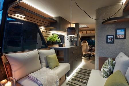 Hymer VisionVenture Concept es la panacea de las furgonetas camper que nadie podrá comprar