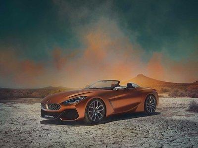 ¡Es oficial! El BMW Concept Z4 es el adelanto del nuevo roadster que llegará el próximo año