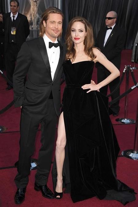Angelina Jolie Atelier Versace 2013