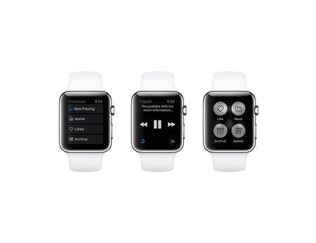 Instapaper, la última app en Abandonar el Apple Watch por falta de usuarios
