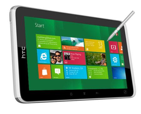 HTC está trabajando en dos tablets Windows RT, según Bloomberg