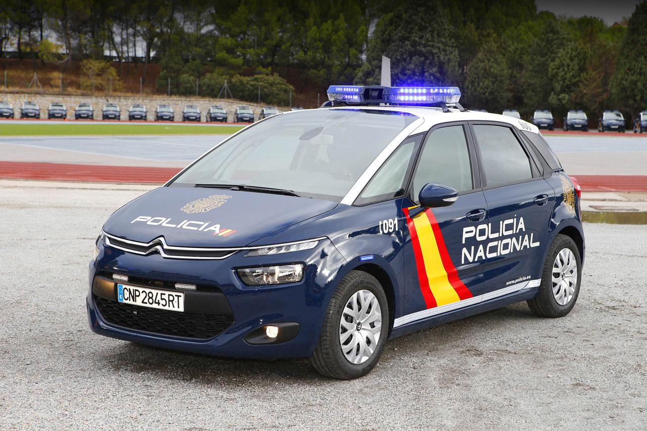 Foto de Citroën C4 Picasso Policía Nacional (1/3)