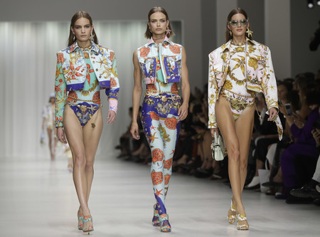 versace primavera verano 2018 top models milan fashion week