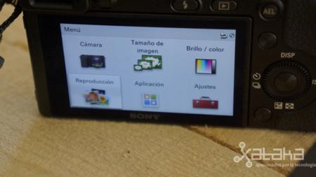 Sony NEX 6 análisis menús