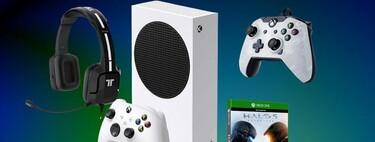 Pack chollo para jugones: Xbox Series S con mando PDP, auriculares Tritton Kunai y juego digital a 286 euros en AliExpress Plaza