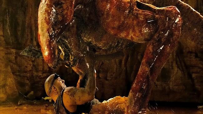 Escena de acción de 'Riddick'