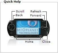 Mira como queda tu web en una PSP