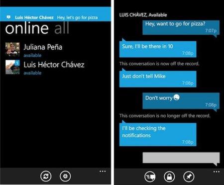 Gchat, la aplicación para usar Google Talk en Windows Phone 7 Mango