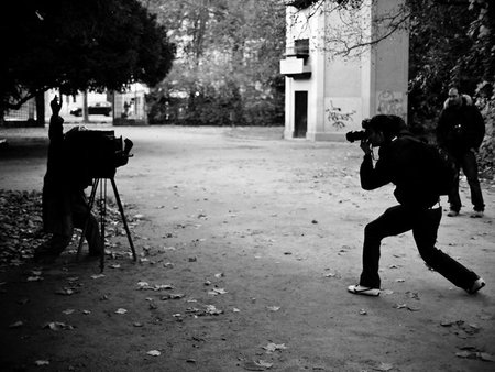 El fotógrafo que expone, ¿nace o le hacen?