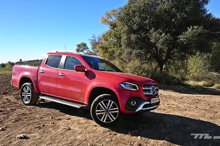 Probamos la Mercedes-Benz Clase X, una pick-up de lujo sin miedo a ensuciarse