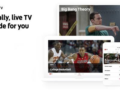YouTube TV: el nuevo servicio de televisión en directo y vía streaming es oficial