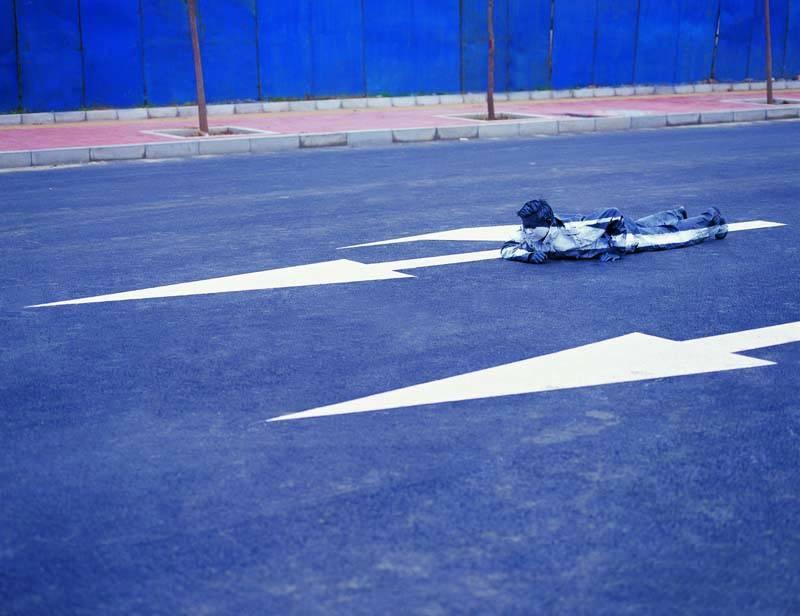 Foto de Hiding in the City: el hombre invisible. Liu Bolin (41/50)