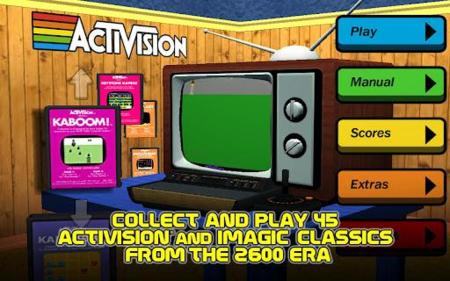 Activision Anthology Trae A Android 45 Juegos De Atari 2600