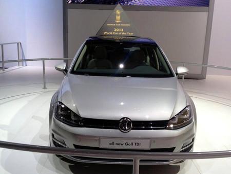 Volkswagen Golf, también Coche del Año mundial 2013