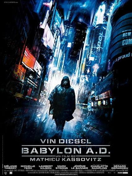 'Babylon A.D.', póster y trailer