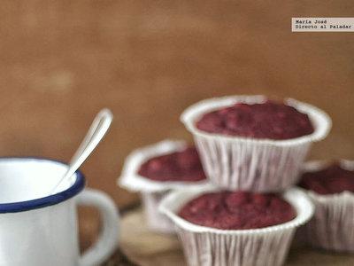 Muffins de remolacha y nueces. Ingredientes atípicos para una receta deliciosa