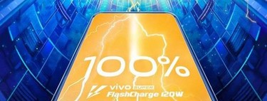 Vivo presenta su carga rápida Super FlashCharge 120W que carga el móvil en solo 13 minutos