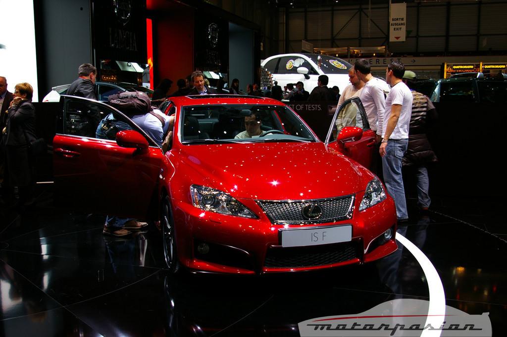 Lexus IS-F en el salón de Ginebra