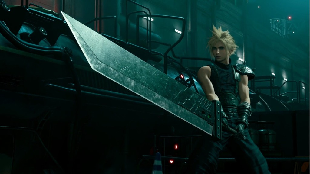 Se ha filtrado la impresionante intro de la demo de Final Fantasy VII Remake y es todo un homenaje al clásico