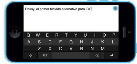 Fleksy, el primer teclado alternativo para iOS comienza a ofrece su SDK público y gratuito