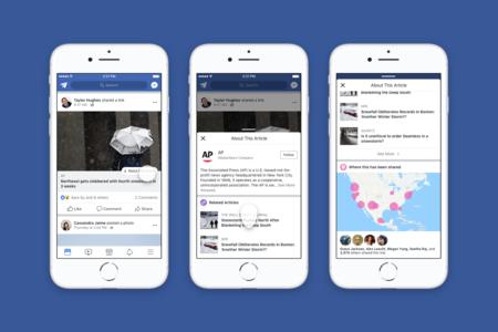 El botón de Facebook para identificar noticias falsas se estrena en España