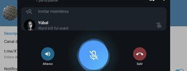 Cómo crear chats de voz en los canales de Telegram