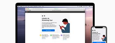 Apple lanza el sitio web y la aplicación 'COVID-19' con herramientas y recursos de detección