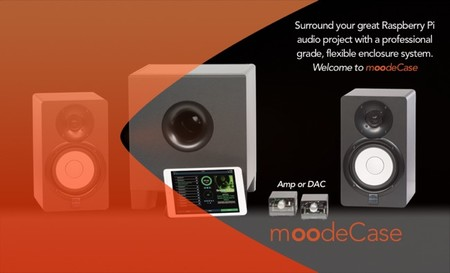 moodeCase para la Raspberry Pi es la caja perfecta para un sistema de audio