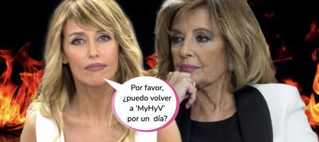 'Viva la Vida': La bochornosa actitud de María Teresa Campos con Emma García en su vuelta a Telecinco