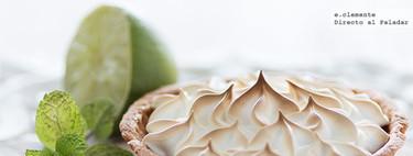 Tartaletas de crema de lima y merengue. Receta