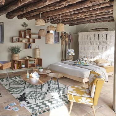 Siete cabeceros de cama originales que puedes hacer tú misma o comprar en Kave Home, Maisons du Monde o Amazon