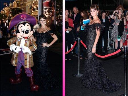 Penélope Cruz, una pirata de lo más glamourosa, y sus amiguitos se van de estreno