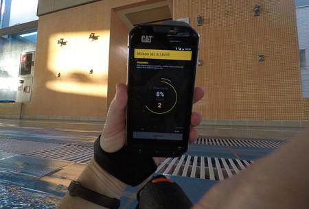 App de secado de altavoz