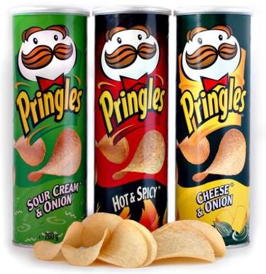 Las Pringles no son patatas fritas