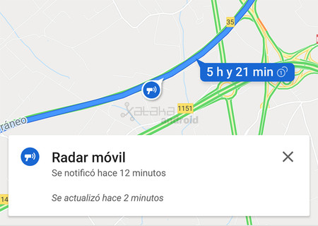 Los radares de Google Maps llegan a España junto al reporte de incidencias de tráfico a lo Waze