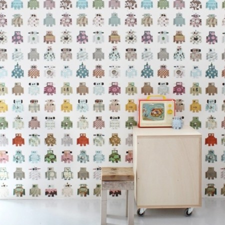 papel-de-pared-robot
