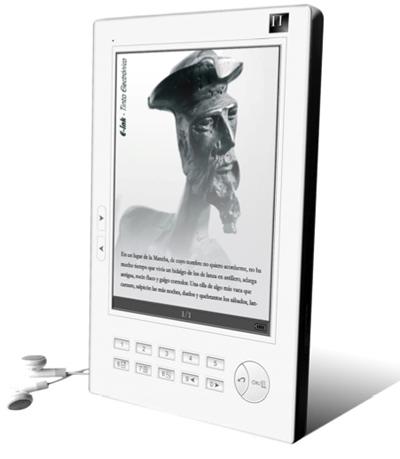 Lectores de libros electrónicos en la Universidad de Granada
