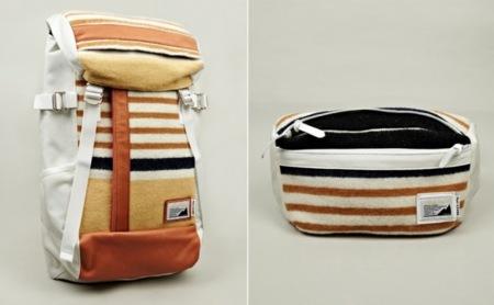 Oki-Ni Masterpiece, mochila y bolso de mano de genial diseño