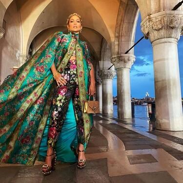 J.Lo y Hedi Klum (entre muchas otras celebrities) se convierten en las invitadas perfectas al desfile de la Alta Costura de Dolce & Gabbana