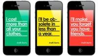 """""""La verdad duele"""", fondos de pantalla autocríticos para iPhone"""