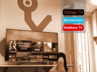 ¿Qué se puede hacer con cada servicio de televisión de pago? Diferencias entre Movistar, Vodafone y Orange
