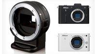 Actualiza el firmware de tu Nikon 1 a la versión 1.10 y utiliza el adaptador FT1