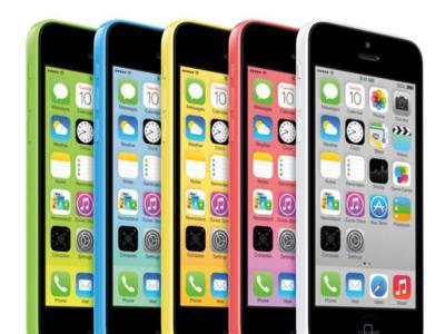 iPhone 5c, con c de contrato