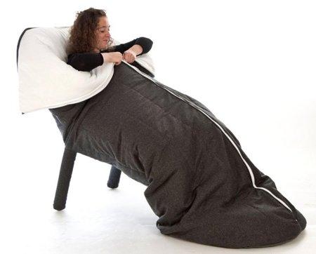 Cocon, la silla saco de dormir