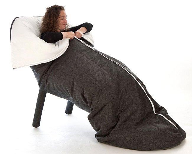 cocon la silla saco de dormir