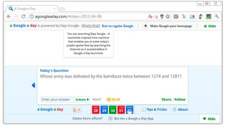 A Google a Day nos propone retos para aprender a buscar