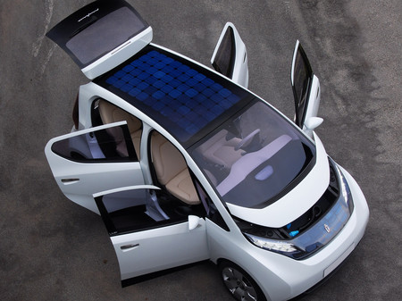 Solar Powered Car Pininfarina