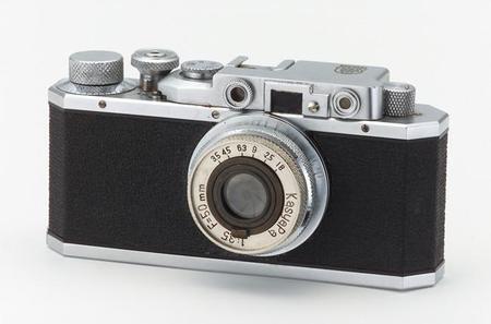 La primera cámara de Canon, Kwanon, cumple 80 años