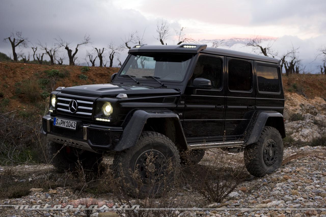 Foto de Mercedes-Benz G 500 4x4², toma de contacto (125/127)