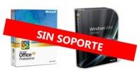 La próxima semana Microsoft terminará con el soporte a Office XP y Windows Vista SP1